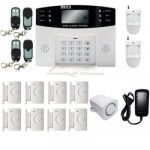 Smart Home Security Monitor Burglar Alarm System