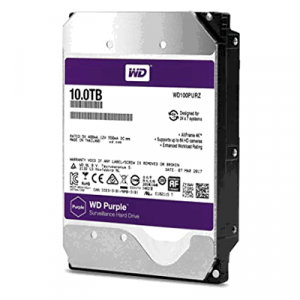 Western Digital WD Purple 10TB Surveillance Hard Disk Drive