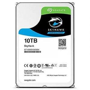 """Seagate 10TB SkyHawk SATA III 3.5"""" Internal Surveillance Hard Drive"""