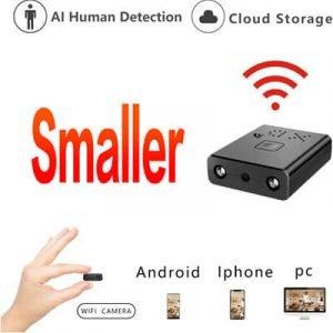 HD Mini Wifi IR-Cut, Cloud AI Human Detection cam