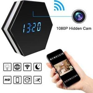 WiFi Mini Alarm Video Recorder Night Vision Motion Sensor