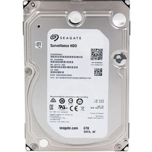 Seagate ST6000VX003-520 6TB surveillance video recorder hard disk