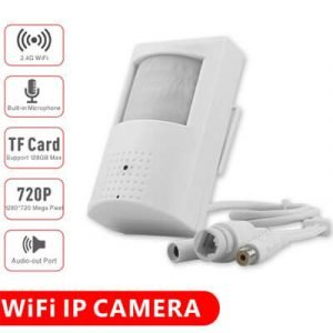 Wired and Wireless IP Built-in 3.7mm Covert Lens camera