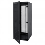 48U Wall Mount Network Server Cabinet Rack - Black