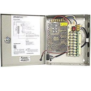 Winpossee 18 Channel CCTV Power Supply Unit Box