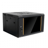 6U Wall Mount Network Server Cabinet Rack - Black