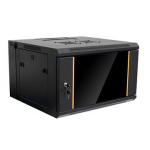 6U Wall Mount Network Server Cabinet Rack - Black