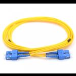 1m SC-SC 62.5/125 OM1 Duplex Multimode PVC Fiber Optic Cable