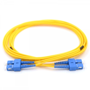1m SC-SC 62.5/125 OM1 Duplex Multimode PVC Fiber Optic Cable