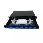 24 Port Fiber Optic SC Patch Panel