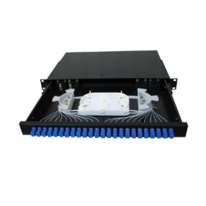 24 Port Fiber Optic SC Patch Panel