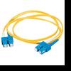 2m SC-SC 62.5/125 OM1 Duplex Multimode PVC Fibre Optic Cable