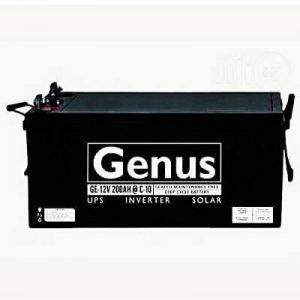 GENUS BATTERY 12V/200Ah SMF