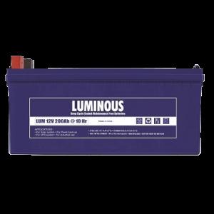 LUMINOUS BATTERY BLUE 200AH/12V SMF
