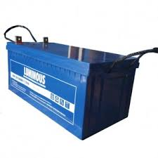 Luminous 200Ah/12V Deep Cycle, VRLA SMF Battery – New, Original Fortified Luminous Battery in Blue Colour