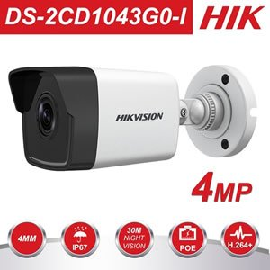 Hikvision 4MP DS-2CD1043G0-I IR Network Bullet Camera