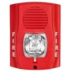Fire Alarm Sounder Flasher