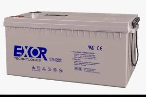 Exor deep cycle 12V/200AH inverter battery