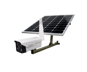 LS VISION 2MP 1080P HD P2P Remote 4G Wireless WiFi IR Outdoor Waterproof Starlight Solar Panel Powered Bullet Security Camera 2