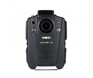 LS VISION Wide Angle Wireless 3G 4G LTE Police Body Cameras 32MP 1080P Body Worn Camera Law Enforcement with GPS