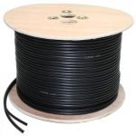 Reel RG59 Coaxial and power Cable