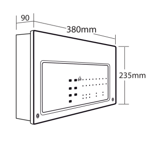 cfp704 4 standard 4 zone conventional fire alarm panel 2